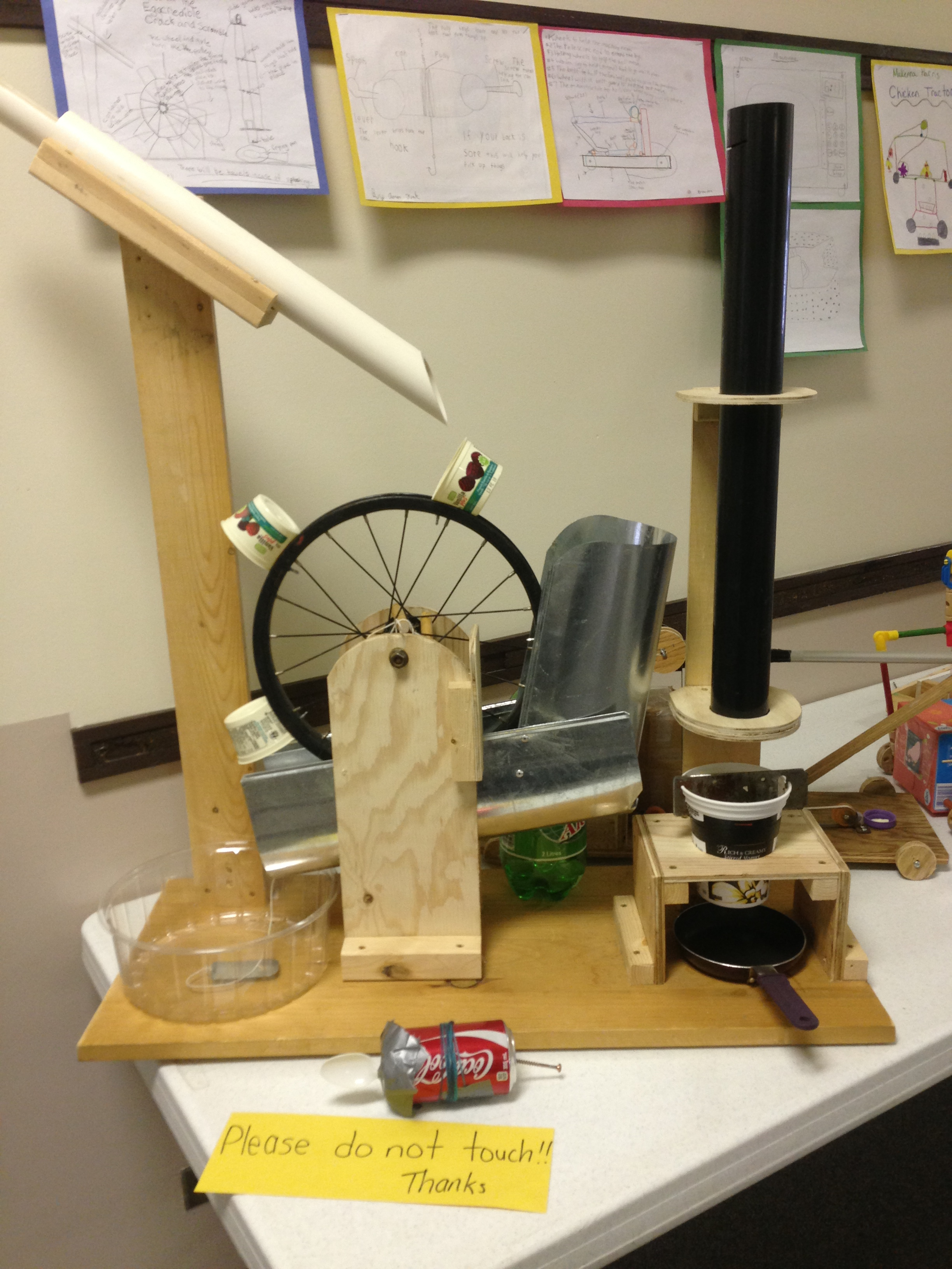 veritas school - intermediate science project