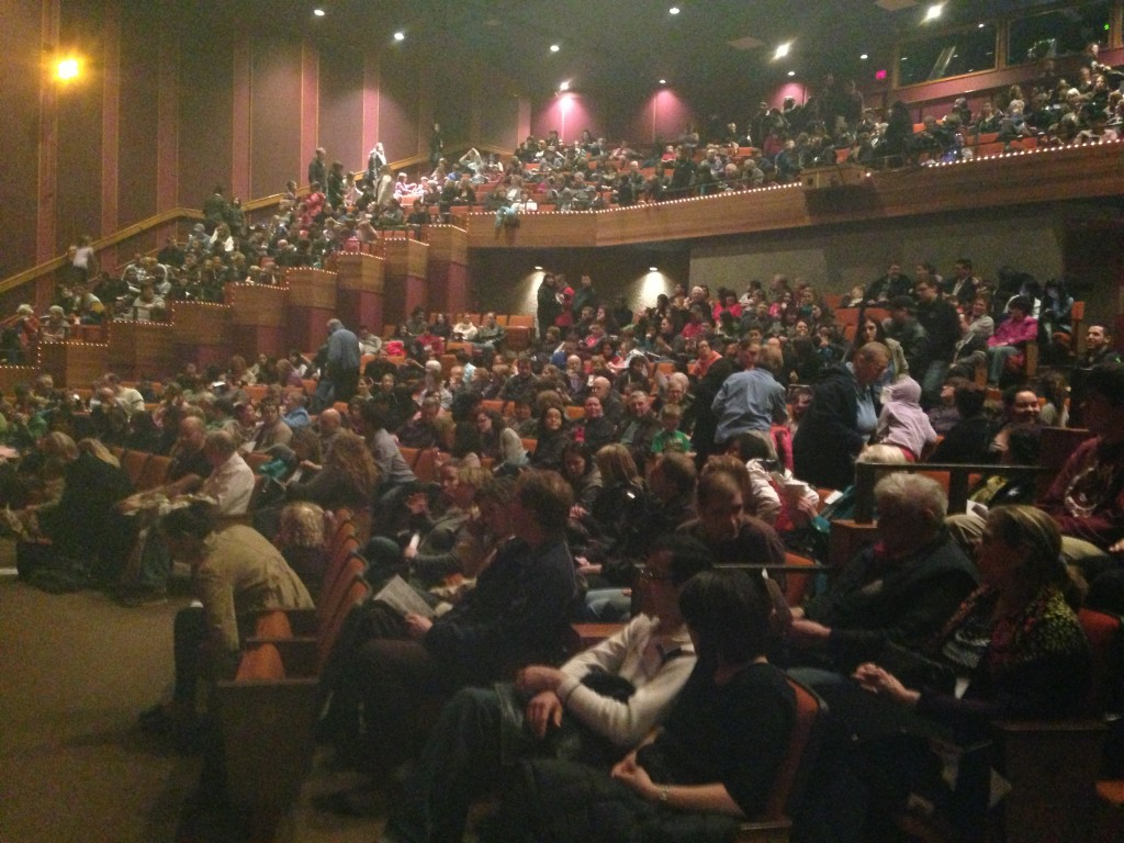 Full house at the Lester Centre for Mary Poppins